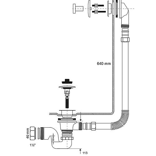 Слив для ванны устройство и установка  Ремонт и дизайн